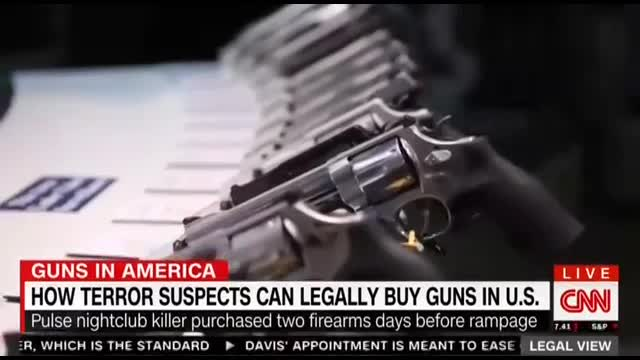 CNN's Banfield Outraged By Lack of Gun Control For Those On Terror List