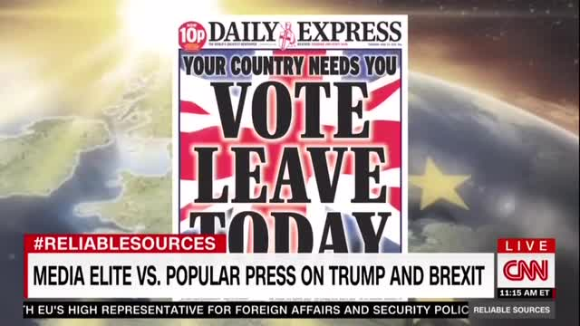 Fareed Zakaria: The Anti-Brexit  Media is Biased 'in Favor of Facts'
