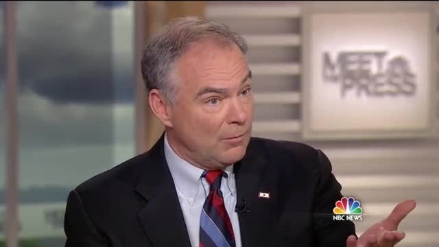 Sen. Tim Kaine Says He's a 'Traditional Catholic' Who 'Personally' Opposes Abortion