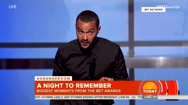 Nets Hail Actor's Racial Tirade at BET Awards as 'Powerful,' 'Impassioned Call to Action'