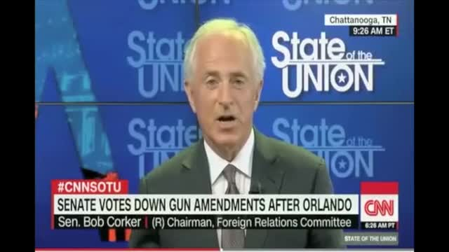 Corker: We Can Still Get a Bill 'That Protects 2nd Amendment Rights' and Keeps Guns Out of Terrorist Hands