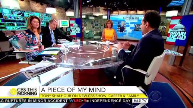 CBS Giggles Over New Show Featuring Trump Fashioned Mind Controlled Republican