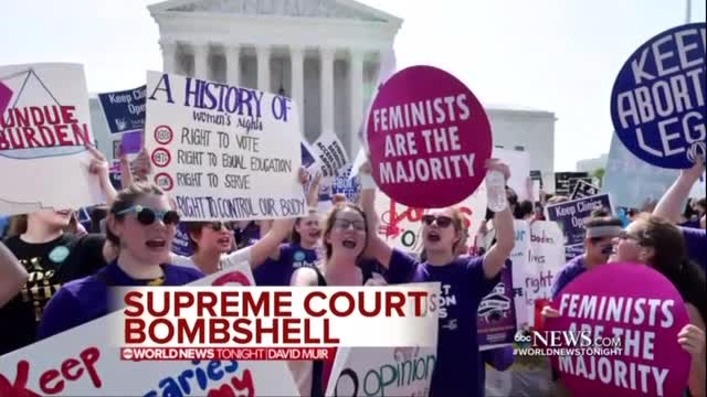 Networks Tout Supreme Court Ruling Against Texas' Abortion Law