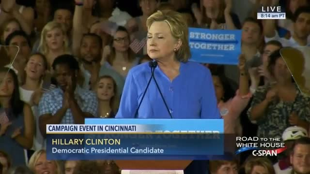 Hillary Clinton: 'Get Unaccountable Money Out of Politics'