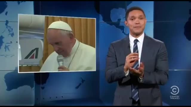 Comedy Central's Noah Mocks 'Motherf**ker' Pope Francis, Catholic Church