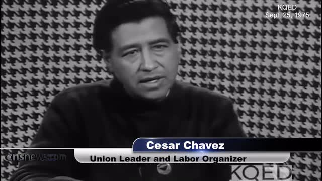 Cesar Chavez in 1975: Illegals from Mexico Used as 'Strike Breakers' Against Unionized Workers