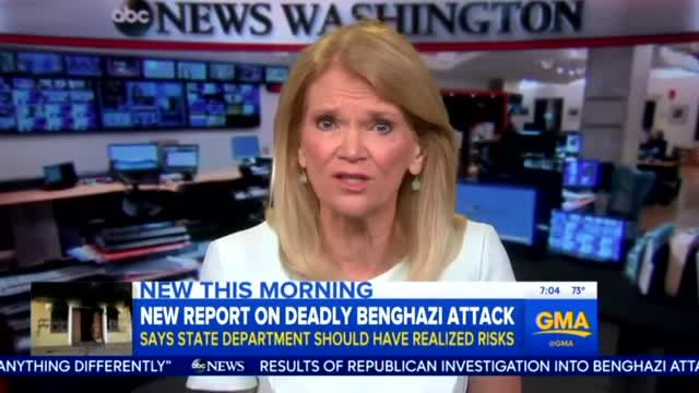 Nets Cover Benghazi Report, Find No 'Wrongdoing' by Hillary