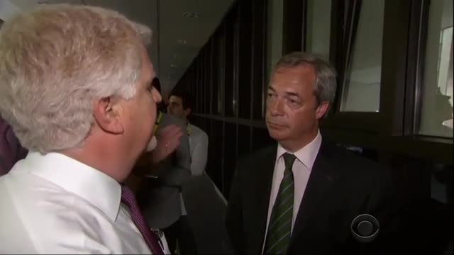 CBS Reporter Claims Farage of Wants People to be 'Poorer' with Brexit