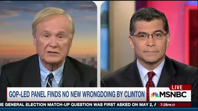 Shock: Matthews Pushes Liberal Congressman on Benghazi; 'Nothing Got Done' from D.C.