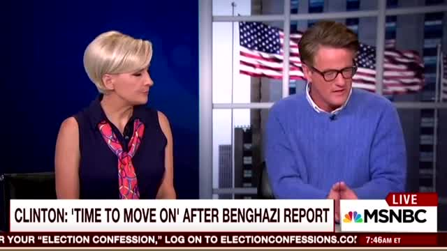 Finally, Scarborough Hammers Clinton on Benghazi: 'What the Hell Was Going On?'