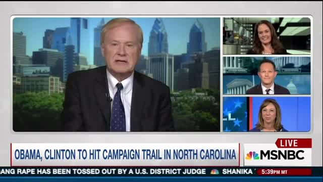 Matthews Worries Obama Could Lose 'Some of His Glow' If Trump 'Pulls Him Down'