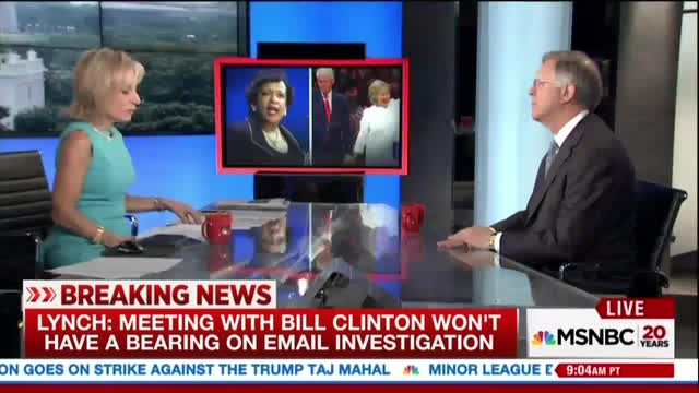 Mitchell Bemoans Clinton/Lynch Meeting Has 'Overshadowed' Hillary's Campaign