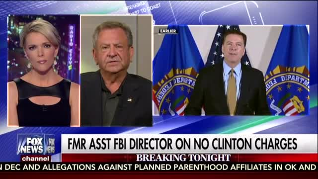 Former FBI Assistant Director: Comey's Decision 'Makes No Sense'