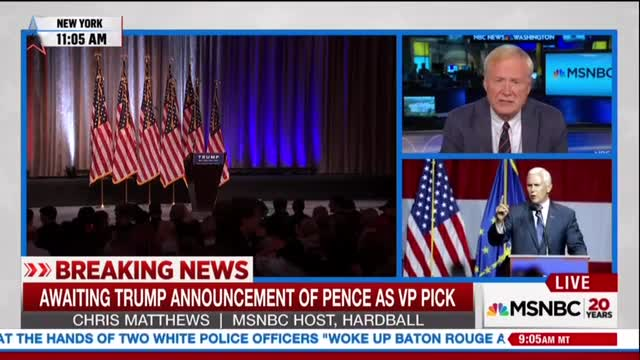 Matthews Blames Trump for Violence, He's a 'Magnet' Who 'Causes Trouble'