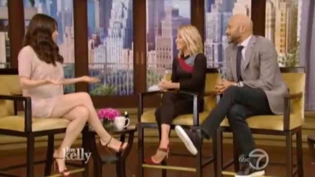 Mila Kunis on Live with Kelly