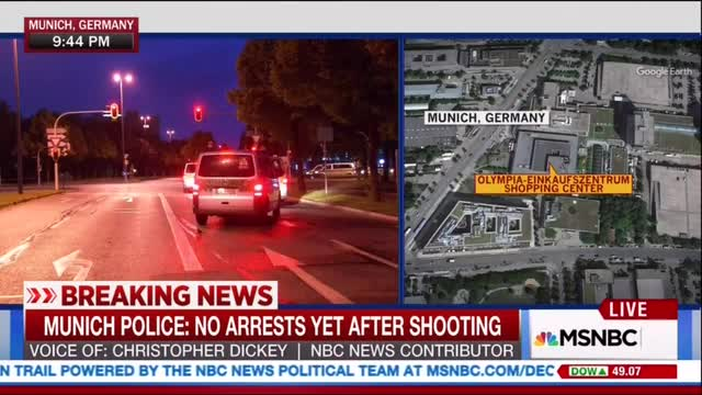 Of Course: MSNBC Connects Munich Terror Attack to GOP Convention