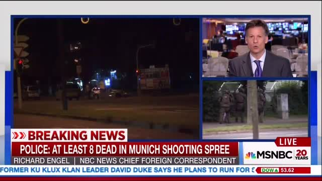NBC's Engel, Todd Link Brexit Vote to Odds Munich Attack Was Done by Right-Winger