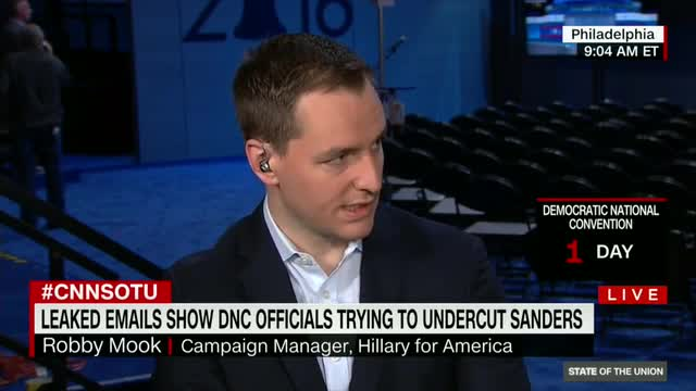 Clinton Campaign Manager Says DNC Email Hacking Was Done by Russians to Help Trump