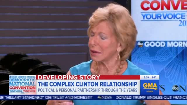 GMA Guest Gushes: Clinton Marriage Like an Epic Romance Out of 'Gone With the Wind'