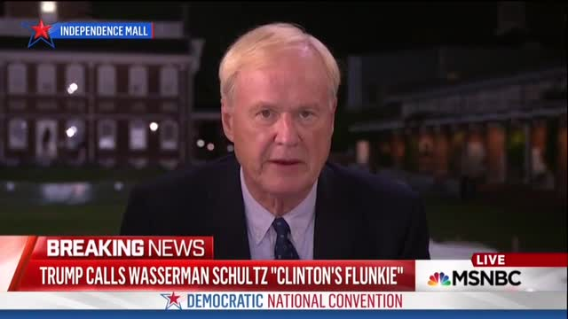 D'oh! Matthews Stumbles, Forgets Who Out-Going DNC Chair Is