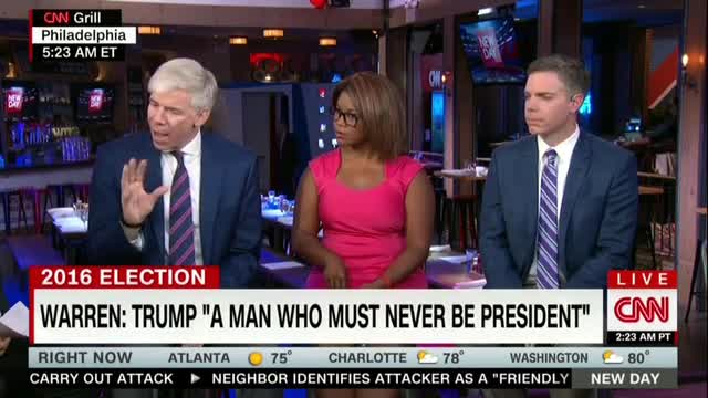 Liberal Bubble: CNN's Gregory Hasn't Met Anyone Supporting Trump's 'Stupid Wall'