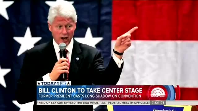 NBC Notes Bill Clinton's 'Personal and Political Baggage,' Skips His Sex Scandals