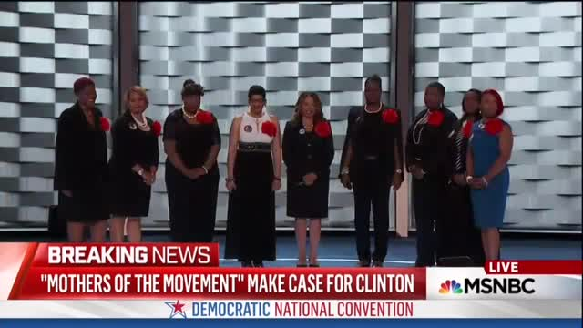 MSNBC Touts 'Profound' BLM Mothers; Trashed Pat Smith for Having 'Ruined' RNC