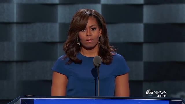 Michelle Obama: 'I Live in a House Built by Slaves'