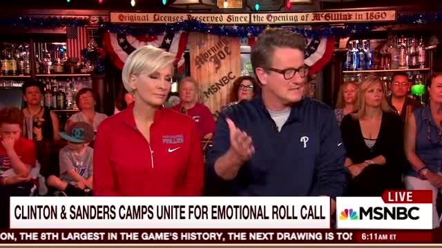 Scarborough Hails 'Excitement' of DNC Over 'Sleepwalking' RNC