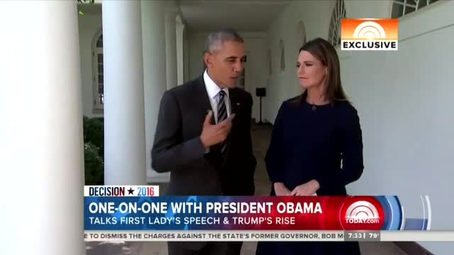 Guthrie Frets to Obama: 'Trump Has Made it Pretty Personal Against You'