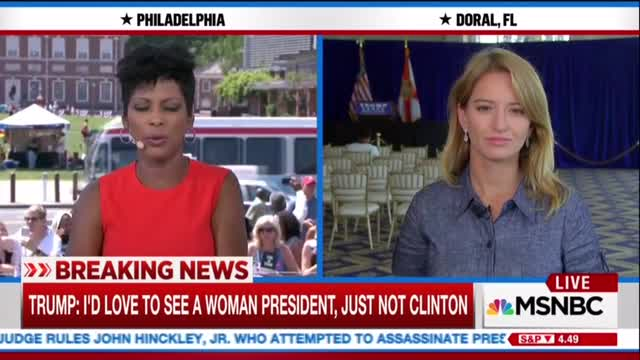 Trump Shushes Aggressive Reporter, Media Flips Lid Crying 'Sexism'