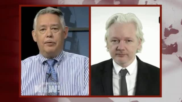WikiLeaks Founder: We Didn't Partner 'With the New York Times Or Washington Post' on DNC Emails - 'They are Partisans'