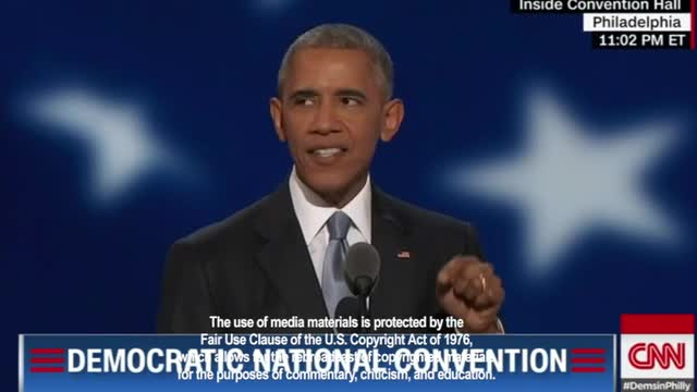 Obama to DNC: 'We're Not Done Perfecting Our Union'