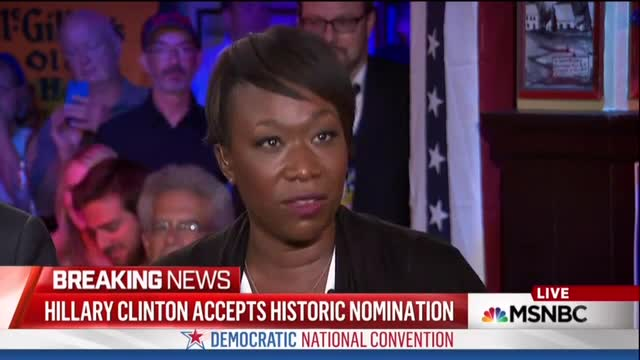 Joy Reid Had 'Emotional Connection' to Hillary's DNC Speech; 'Almost Like an Oscars Telecast'