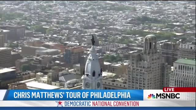 Enjoy MSNBC's Chris Matthews Discussing Philly Culture from the 'Rocky' Steps