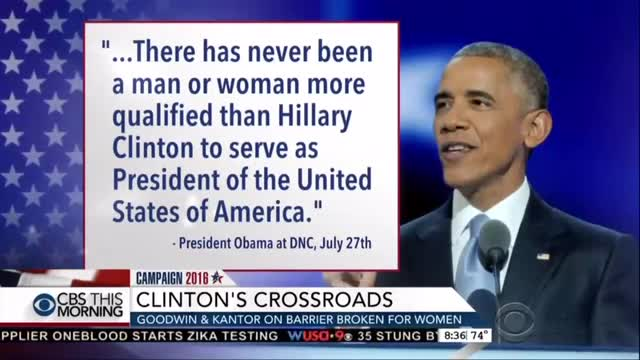 On CBS: Is Hillary Most Qualified Ever? Fact Check True