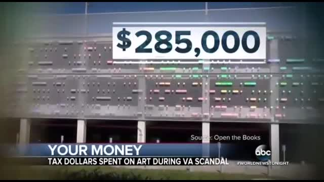 ABC Spotlights Veterans Admin. Wasting Millions On Art During Scandal