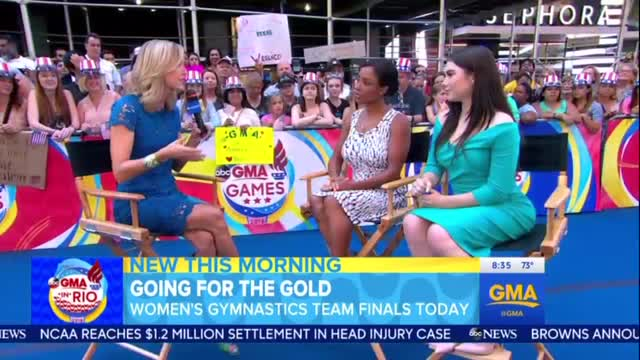 Former Olympians on GMA