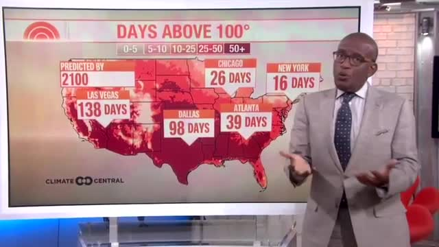 Al Roker Uses Weather Report to Get on Climate Change Soapbox