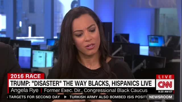 CNN's Rye Reminded of Slavery by Trump's 'Make America Great Again'