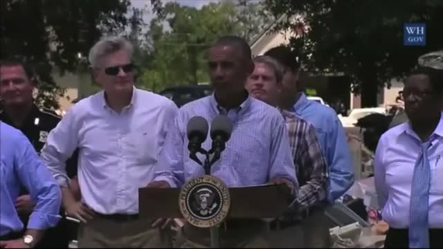 Obama on Louisiana Visit: 'Nobody Gives a Hoot Whether You're Democrat or Republican'