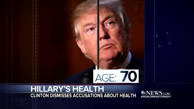 ABC Gives More Time to Clinton Health Conspiracy and Trump Than Charity Scandal