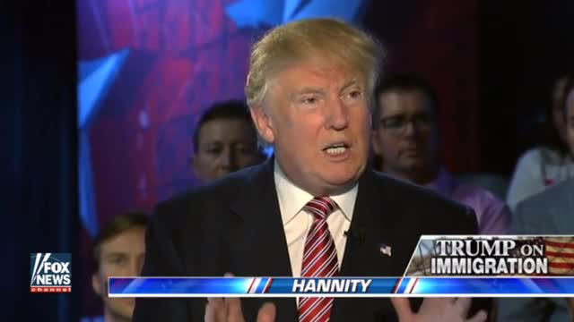 Trump: We're Going to Follow Immigration Law, But 'There Certainly Can Be a Softening'