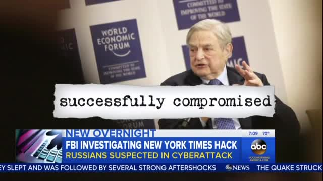 Good Morning America Mentions Soros Leaks in Passing
