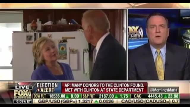 On Fox Business, MRC's Gainor Rebukes Clinton Complaint about Media Bias