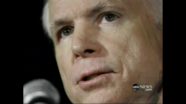 Nets Skeptical of McCain Health in 2008, Worried About Mental Fitness