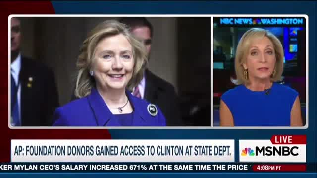 Matthews, Mitchell: Clinton Foundation Concerns Are 'Political'; Donors Are Just Their Friends!