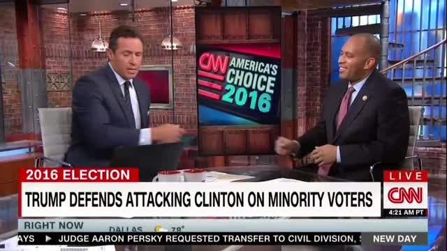 CNN's Cuomo Lets Dem Guest Claim Trump 'Outsourced' Campaign to 'White Supremacist Groups'