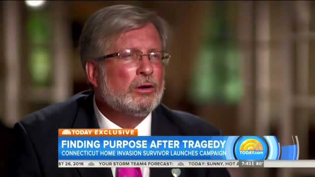 NBC Lectures Father of Murdered Family Over His 'Controversial' Support of Death Penalty