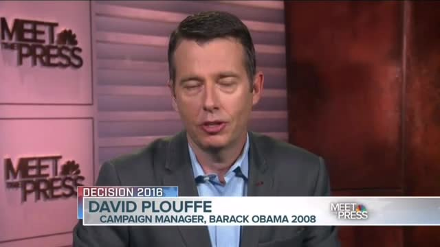 Ex-Obama campaign chief David Plouffe: Trump meets 'clinical definition' of a 'psychopath'